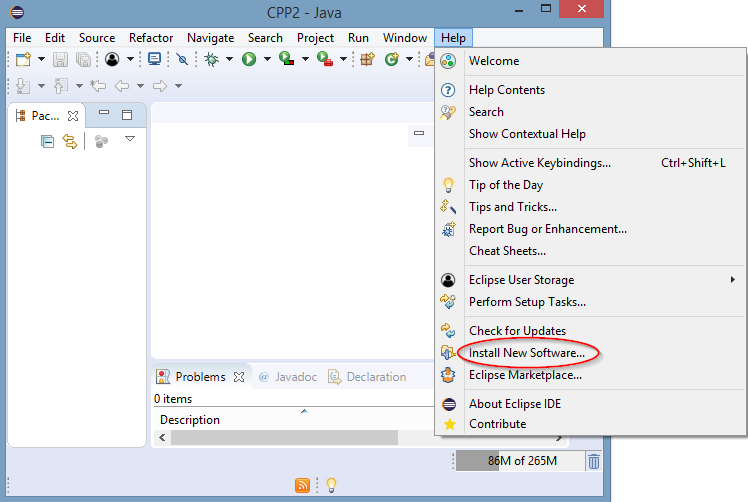 Installing Eclipse IDE on Windows for Java and C/C++ Developers
